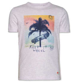 Ao76 t shirt palm wheel