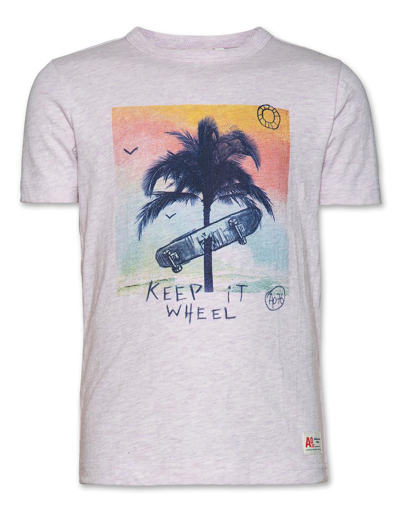 Ao76 t shirt palm wheel
