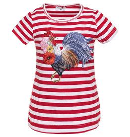 Monnalisa T shirt streep haan