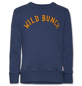 Ao76 sweater blauw indigo