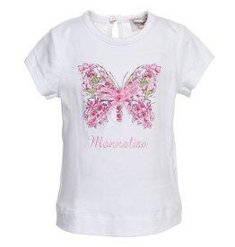 Monnalisa T shirt vlinder