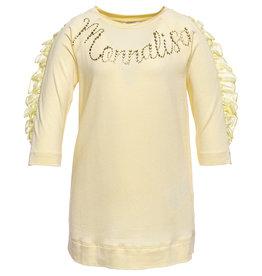 Monnalisa T shirt ecru +Monnalisa