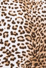 Monnalisa Top tijgerprint boord