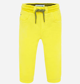 Mayoral broek lang geel