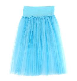 Monnalisa rok tule fel blauw