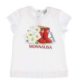 Monnalisa T-shirt wit laars