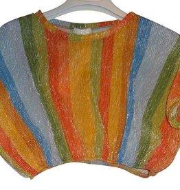 Fun Fun top streep lurex multicolor