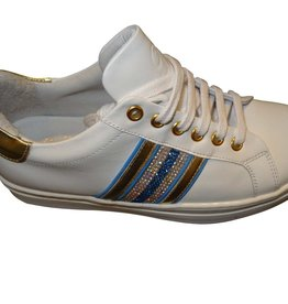 RTB/Hoops sneaker ecru kobalt