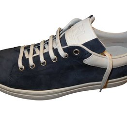 Red Limit/Hoops sneaker suede blauw