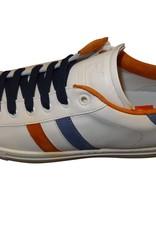 Red Limit/Hoops sneaker wit bruin blauw