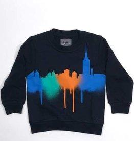 Il Gufo sweater kleur +  blauw donker
