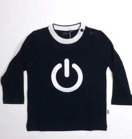 Il Gufo sweater blauw donker on/off