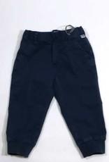 Il Gufo broek lang blauw elastiek onder
