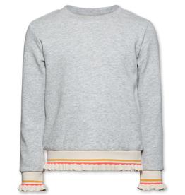 Ao76 sweater boord ecru fluo
