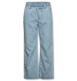 Ao76 broek jeans wijd bleach