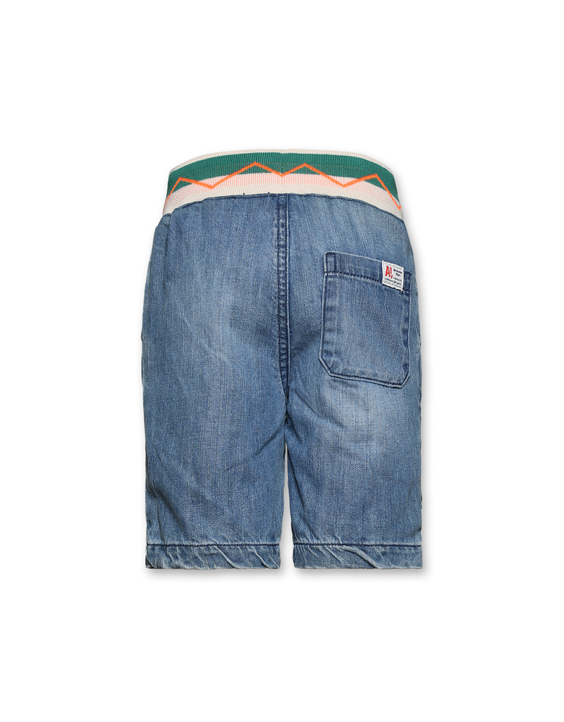 Ao76 short jeans bleach jogger