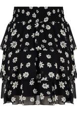 Jacky luxury rok zwart print bloemetjes