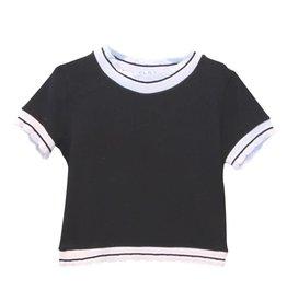 Elsy T-shirt zwart ecru