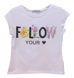 Elsy T-shirt wit folow