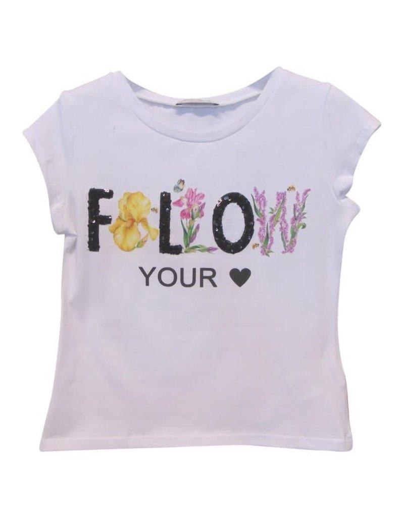 Elsy T-shirt wit folow