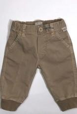 Il Gufo broek lang beige elastiek onder