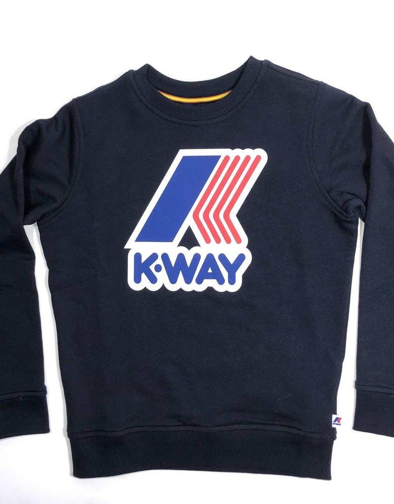 K-Way sweater donker blauw