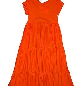 Fun Fun jurk lang oranje