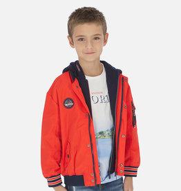 Mayoral jas omkeerbaar rood  en blauw