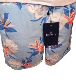 Hackett zwemshort blauw fleurig bloem