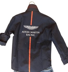 Hackett hemd blauw Aston Martin racing