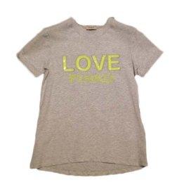 Pinko t-shirt grijs en fluo