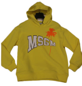 MSGM sweater kap hoodie geel unisex