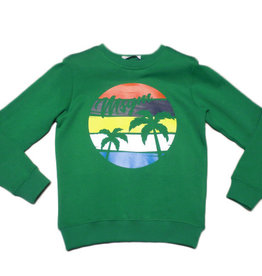 MSGM sweater green ronde hals MSGM