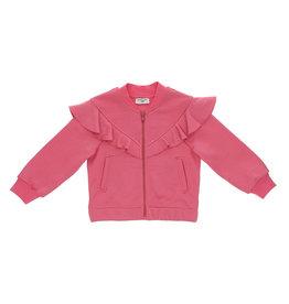 Monnalisa sweater rits fuchsia