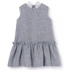 Il Gufo jurk blauw