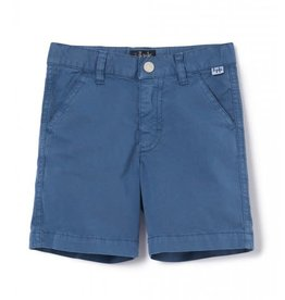 Il Gufo short bermuda blauw cobalt