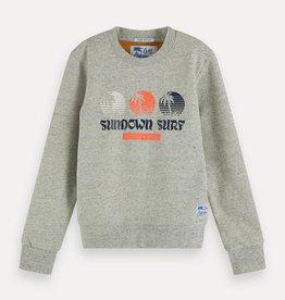 Scotch&Soda sweater grijs melange