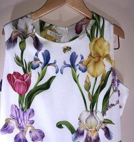Elsy jumpsuit fleurig wit bloemen