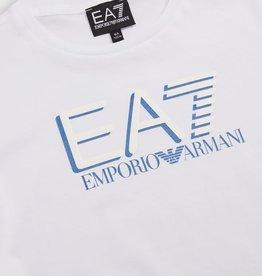 Armani T-shirt wit letters dbl EA7