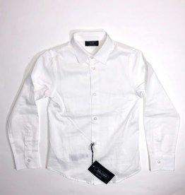 Dal Lago hemd wit glad