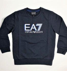 Armani sweater blauw donker EA7