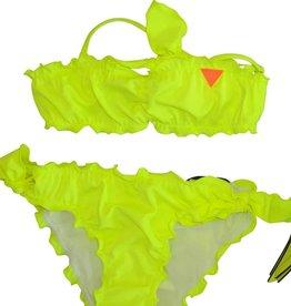 Guess bikini fluo geel