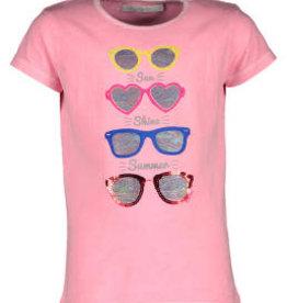 Blue Bay T-shirt fluo pink  bril Adele