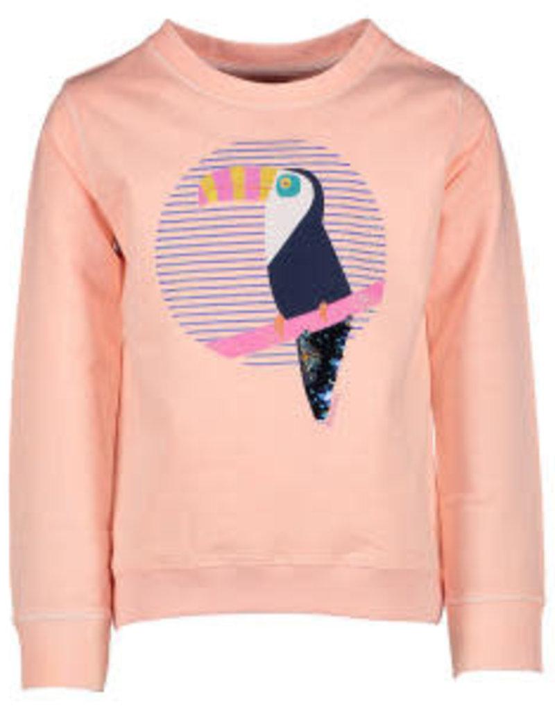 Blue Bay sweater toecan fluo roze Billie