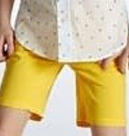 Blue Bay broek kort bermuda geel Fons
