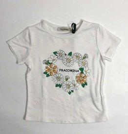 Fracomina T-shirt wit madeliefjes