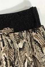 Fracomina rok lang plissé leopard