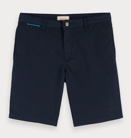 Scotch&Soda short chino blauw
