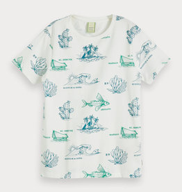 Scotch&Soda T-shirt dessin
