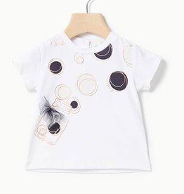 Liu Jo T-shirt wit cirkels